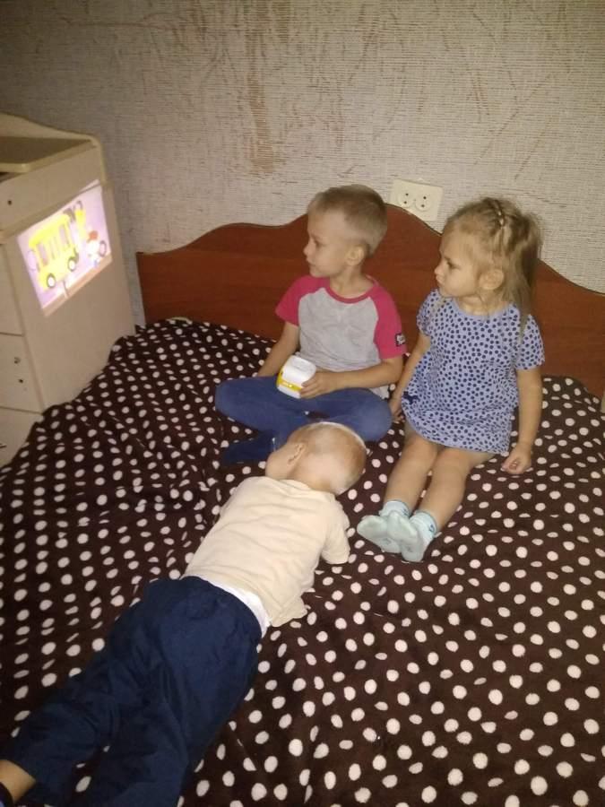 Реакция детей