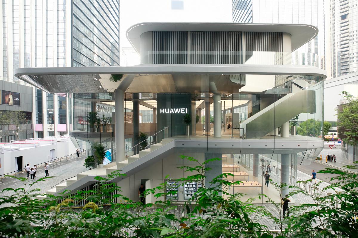Первый магазин HUAWEI Global Flagship Store в Шэньчжэне