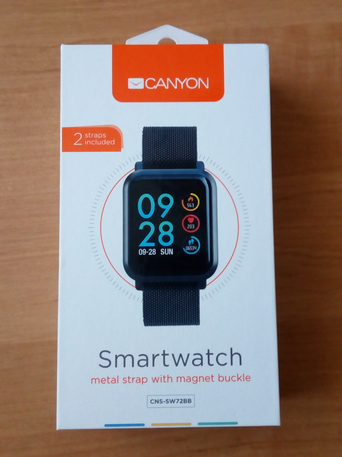 «Умные» часы Canyon CNS-SW72BB