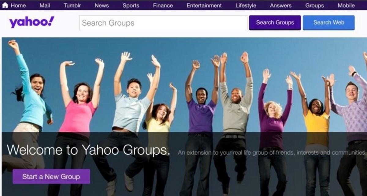 Yahoo закрывает сервис Yahoo Groups