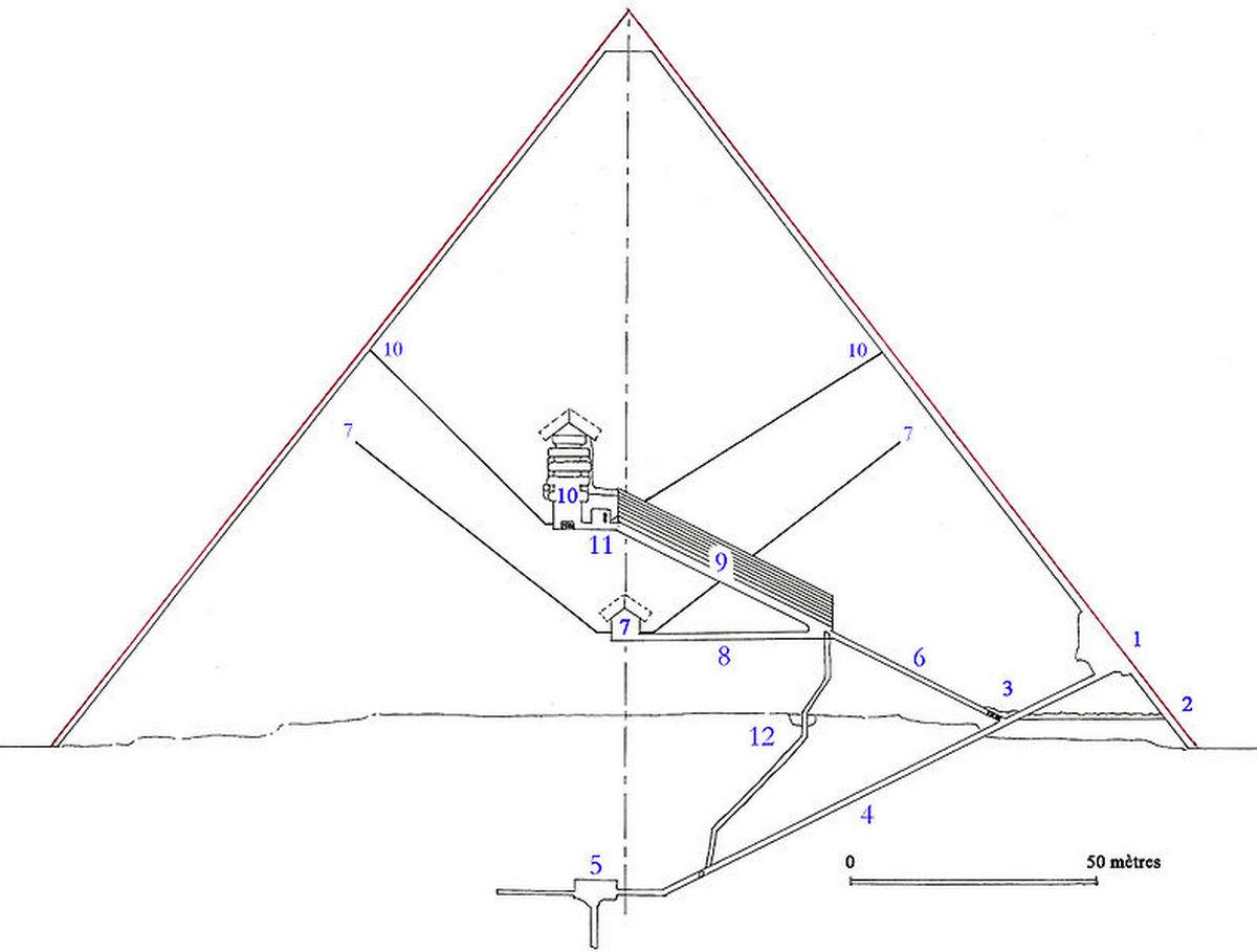 Раскрыта тысячелетняя тайна пирамиды Хеопса - 1