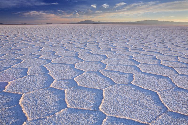 На Марсе существовали соленые озера, подобные земным