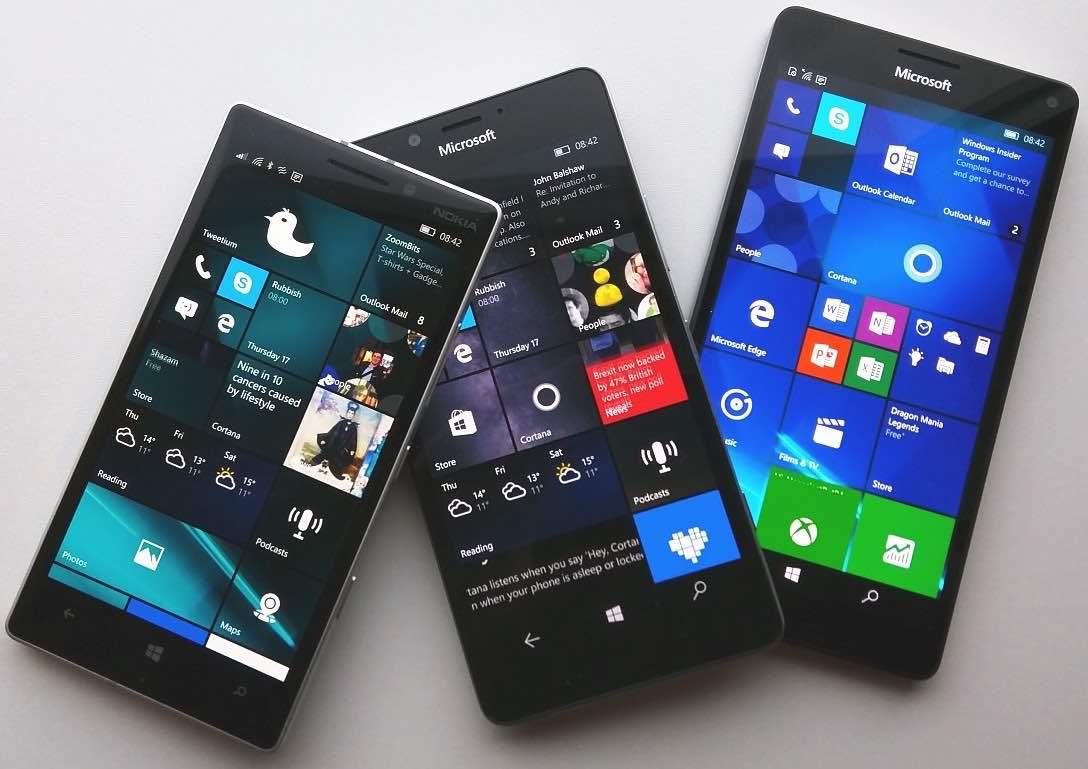 Microsoft объявила об окончании поддержки Windows 10 Mobile