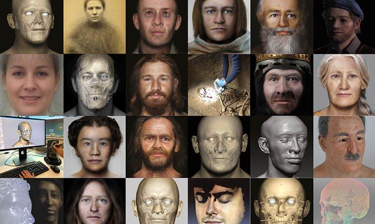 Как искусство и технология помогли оживить лица давно умерших людей