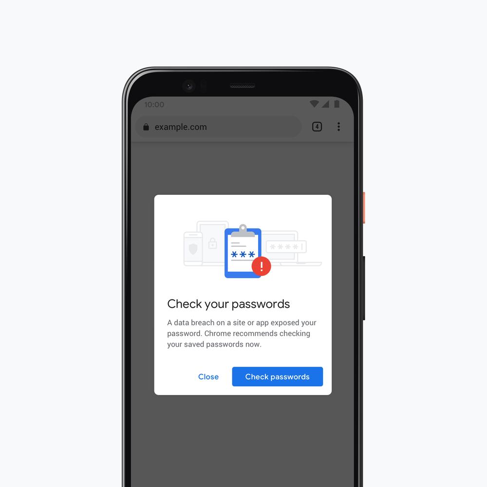 Обновленный Chrome будет предупреждать о скомпрометированных паролях