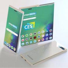 Samsung привезла на CES 2020 уникальный смартфон. Но вы его не увидите