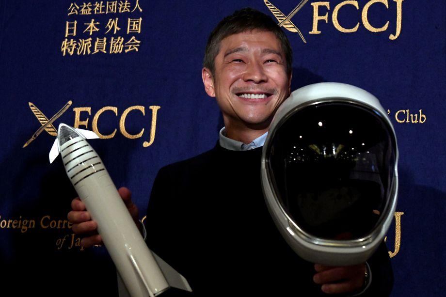 Юсаку Маедзава отказался от поиска спутницы для полета в космос