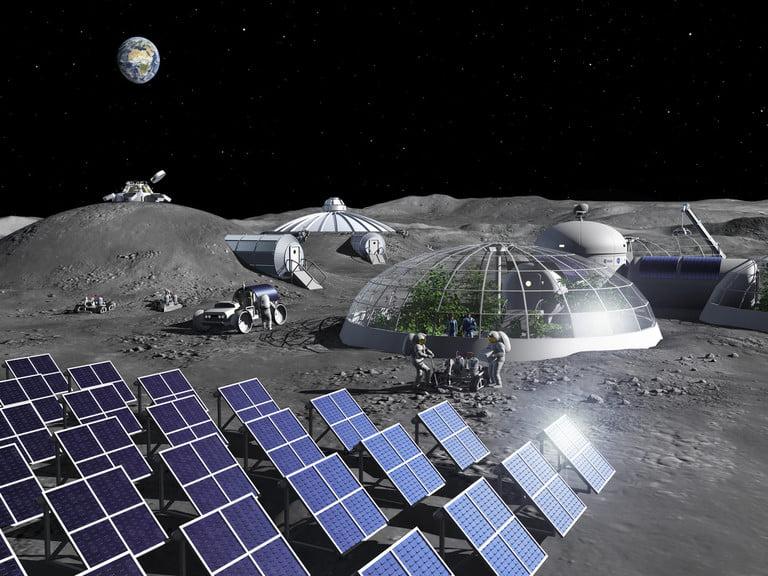 Ученые нашли способ получения кислорода из лунной пыли