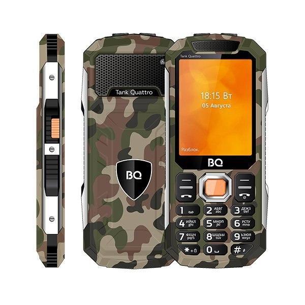 Российская BQ сообщила о выпуске необычного телефона в брутальном корпусе