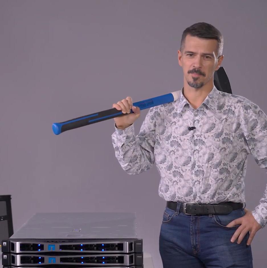 Гиперконвергентная система NetApp HCI