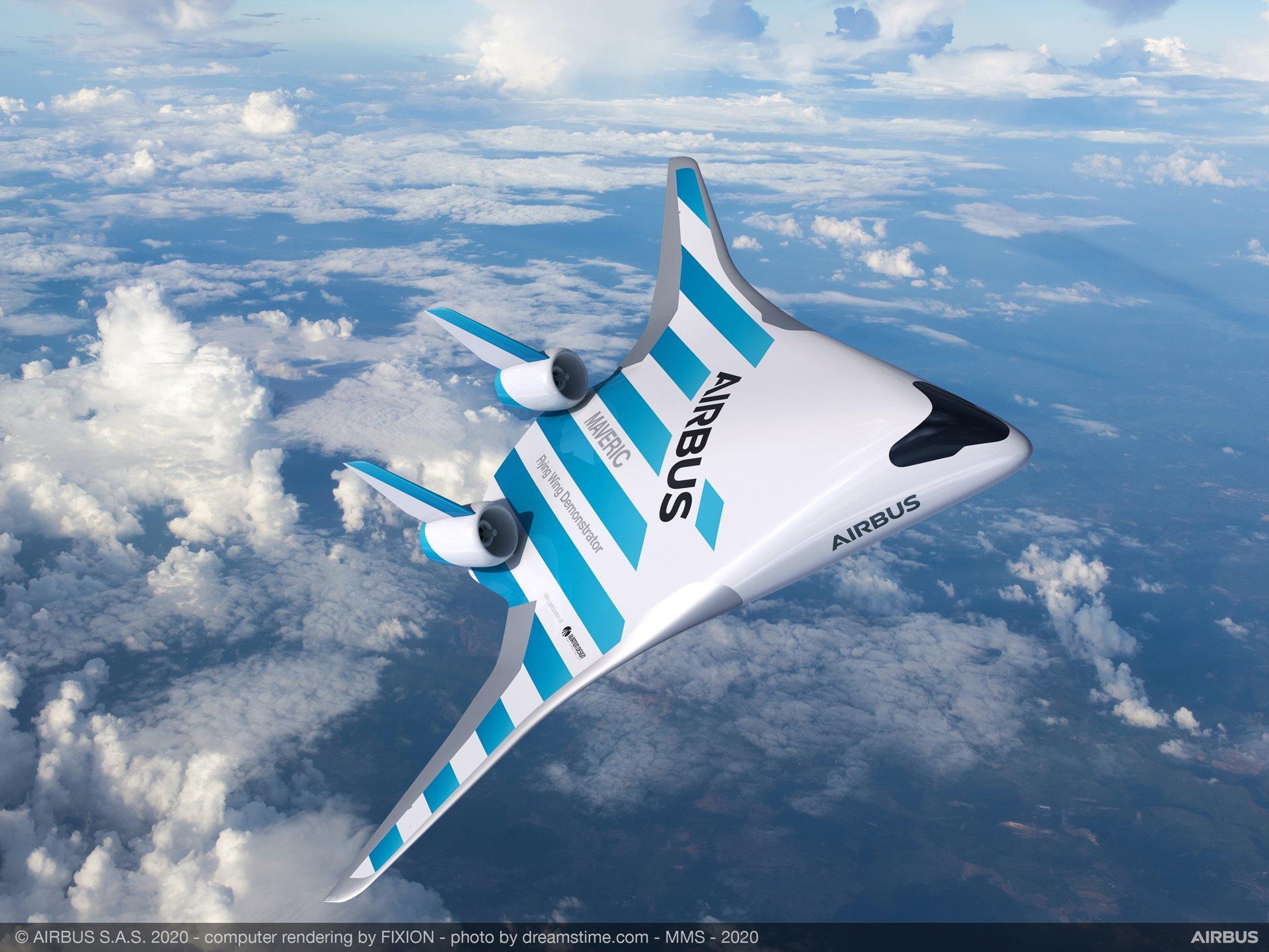 Самолет будущего: Airbus планирует изменить форму пассажирских авиалайнеров