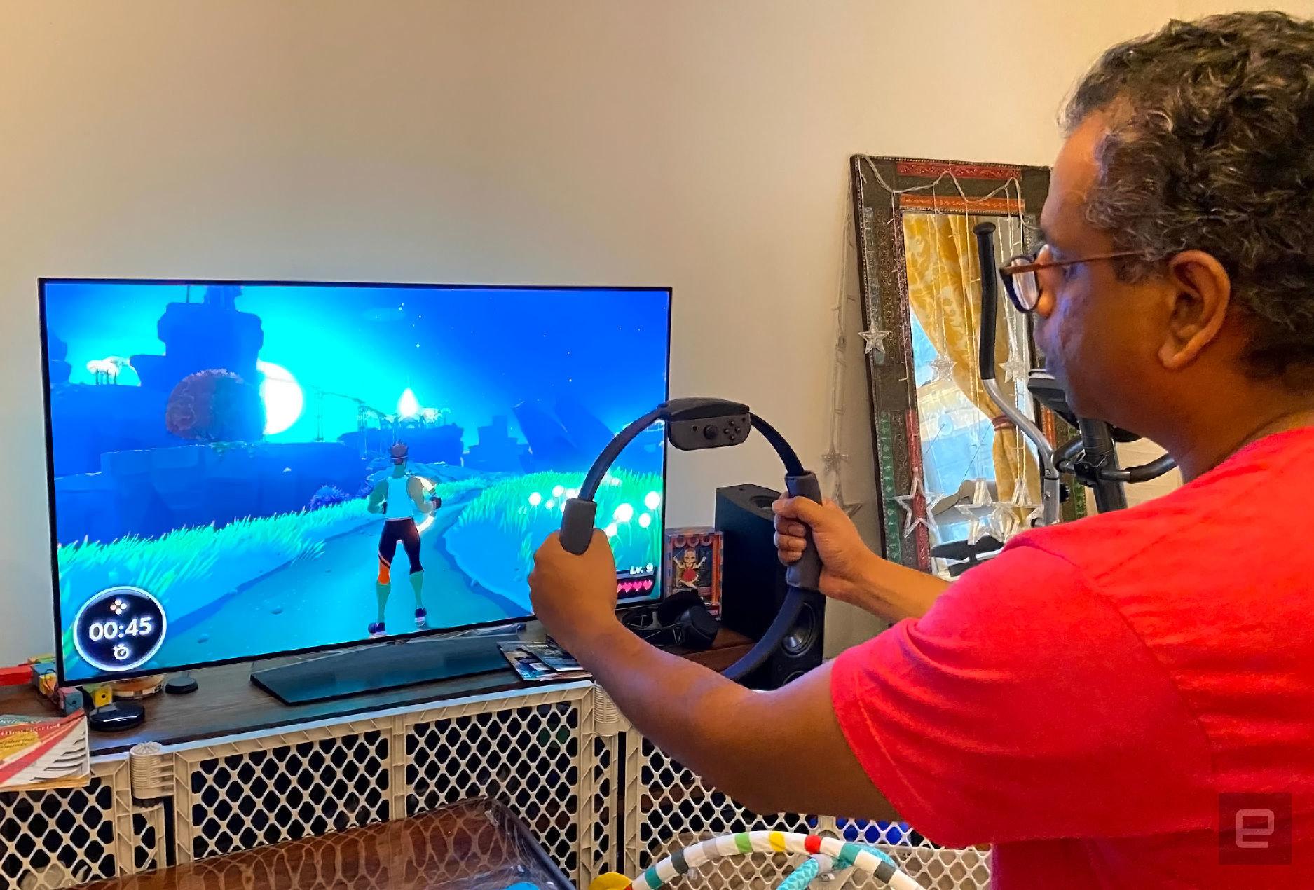 Видеоигра от Nintendo заменит полноценную домашнюю тренировку