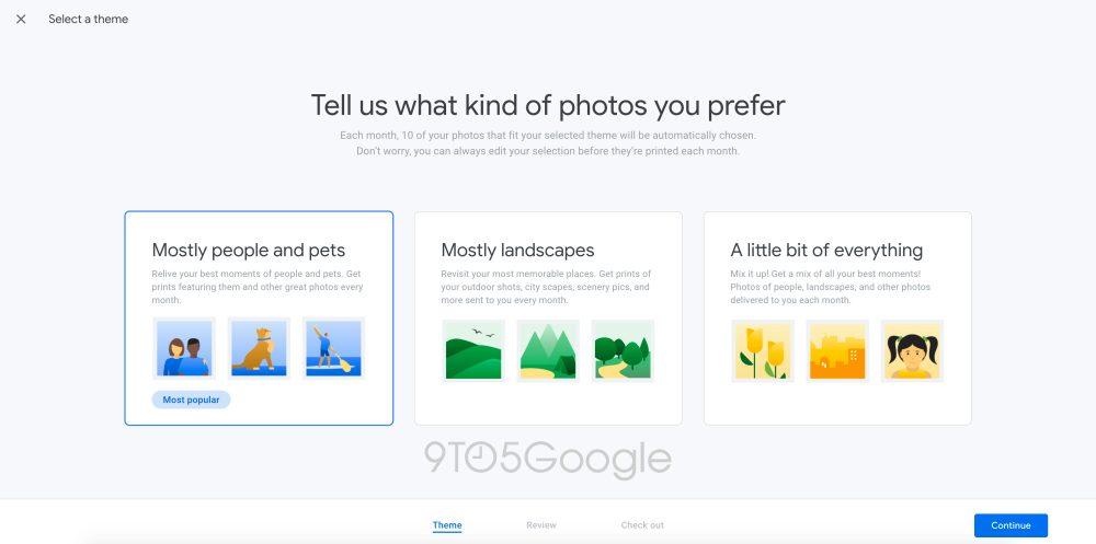 Google тестирует новую функцию автоматической печати фотографий