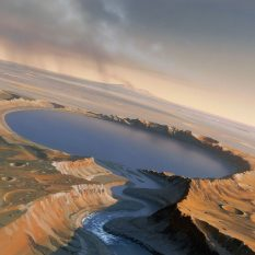 Марсианские метеориты содержат информацию о возникновении на планете воды