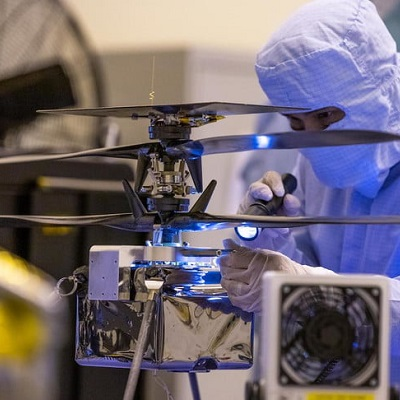 Марсианский вертолет-разведчик NASA прошел последние испытания