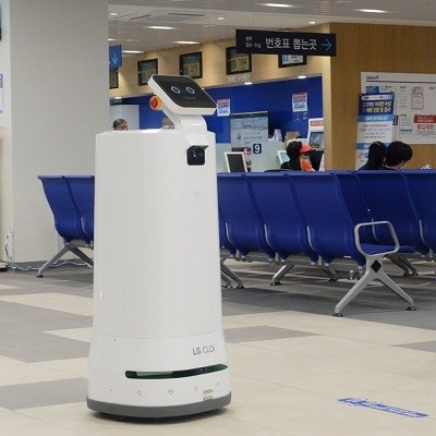 LG внедряет автономных роботов-грузчиков в больницы