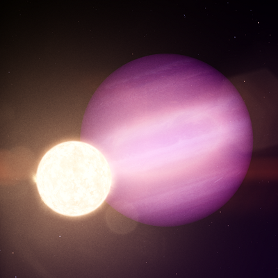 Ученые впервые обнаружили необычную пару из гигантской планеты и карликовой звезды