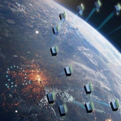 В России испытали лазеры для трансляции рекламы из космоса