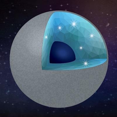 Ученые предполагают, что алмазные планеты образуются из углерода и воды