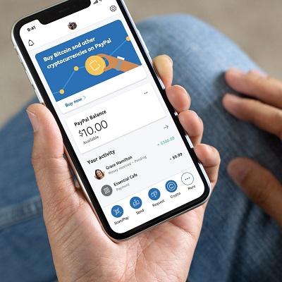 В PayPal можно будет совершать операции с криптовалютой