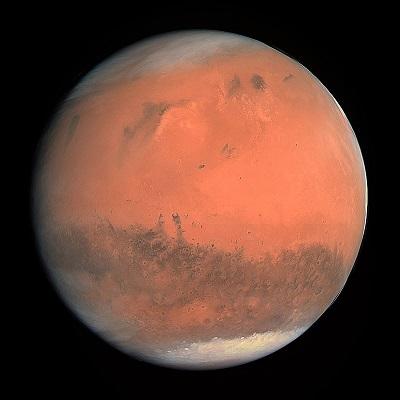6 октября Марс максимально приблизится к Земле