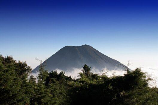 Вулкан в Сальвадоре