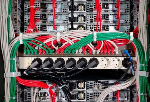 Маркировка кабелей цветом
