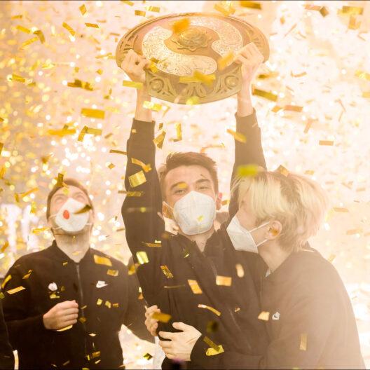 Российские киберспортсмены Team Spirit выиграли крупнейший чемпионат по Dota 2
