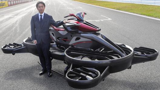 A.L.I. Technologies начала принимать заказы на летающие мотоциклы Xturismo