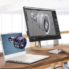 Новый ноутбук ConceptD 7 SpatialLabs от Acer позволит работать с объемной графикой без 3D-очков